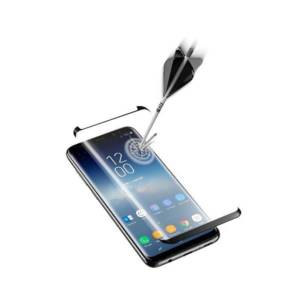Протектор за дисплей Cellularline SAMSUNG GALAXY S9 3D ЗАКАЛЕНО СТЪКЛО